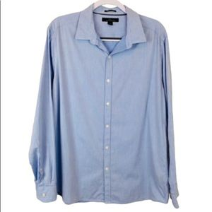 Marc Anthony long sleeve button down shirt size L